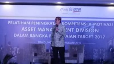Seminar Motivasi di PT Bank Tabungan Negara