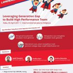 Leveraging Generation Gap To <strong>BUILD HIGH PERFORMANCE TEAM </strong>
