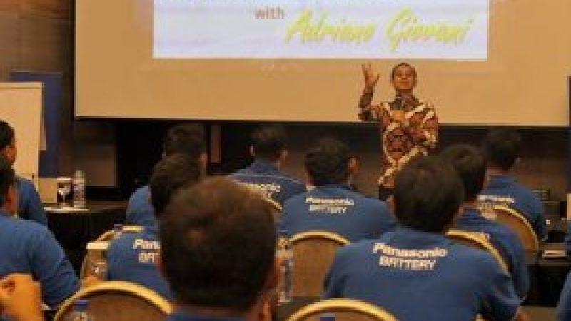 Seminar Motivasi di PT Panasonic Gobel