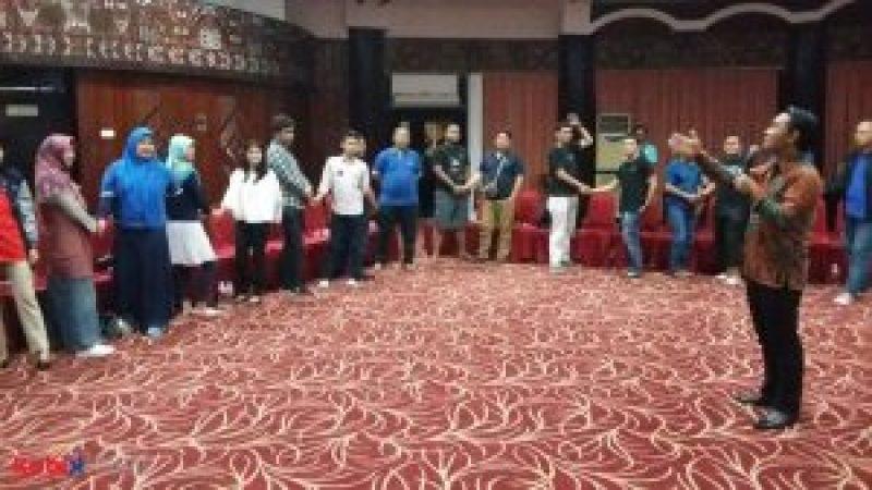 Seminar Motivasi di Acara Workshop Upskilling Pertamina TV