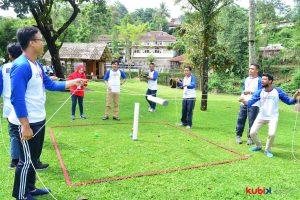 Seminar Motivasi dan Outbound di INSW (Indonesia National Single Window)