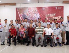 Speak To Change :   Becoming An Effective Mentoring Leader For Toyota (PT. TMMIN)