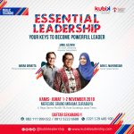 ESSENTIAL LEADERSHIP PUBLIC TRAINING - Your Keys to Become Powerful Leader