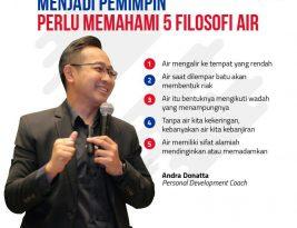 Menjadi Pemimpin Perlu Memahami 5 Filosofi Air