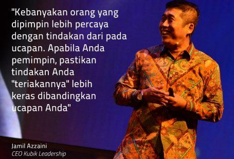 Menjadi Teladan Dengan Perbuatan Leadership Trainer Indonesia