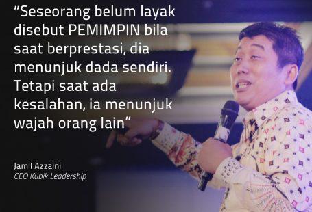 Akui Kesalahan Trainer Leadership Indonesia